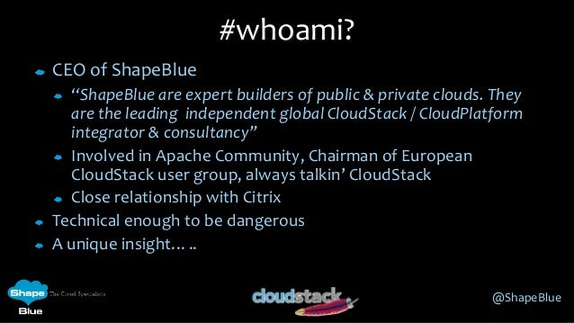 Building Clouds with Apache CloudStack - the business use-cases Slide 2