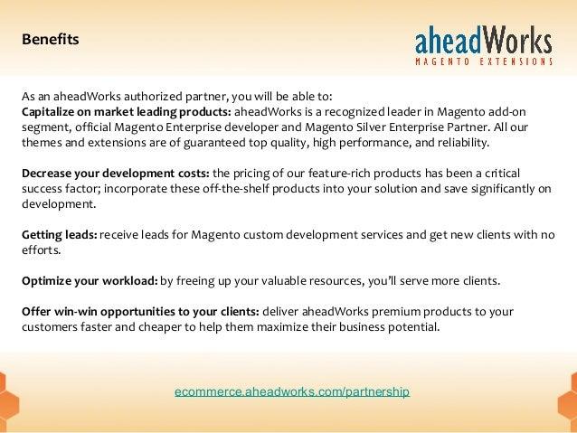aheadWorks partnership program