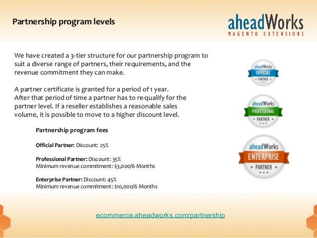 aheadWorks partnership program