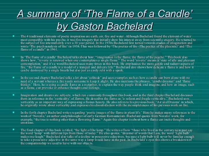 Bachelard Presentation