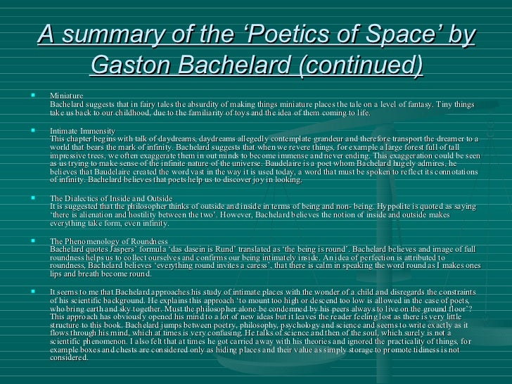 the poetics of space download