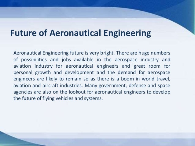 Future Of Aerospace Engineering : Bachelor s degree in aeronautics and aerospace engineering