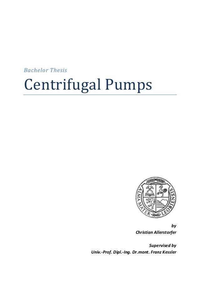 BachelorThesis CentrifugalPumps                           by ChristianAl...
