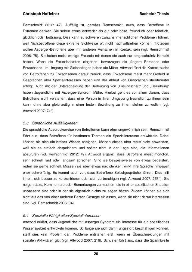 Bachelor thesis web 20