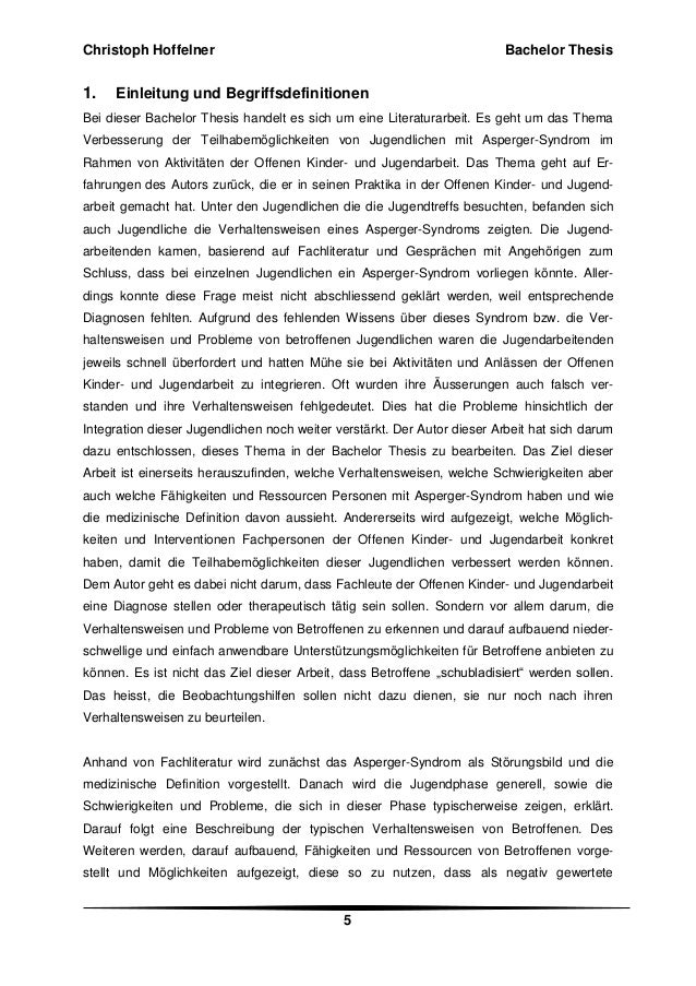 bachelor thesis schluss Bachelor thesis in finance 2012 2 summary this thesis is about understanding the nature of the foreign exchange financial market, getting more insight into the factors that drive this market and how we can predict the.
