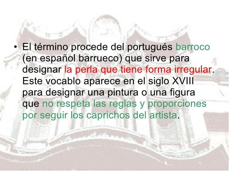 Bachiller Arte  Barroco Generalidades Slide 3