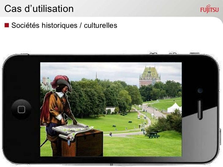 Cas d'utilisation <ul><li>Sociétés historiques / culturelles </li></ul>