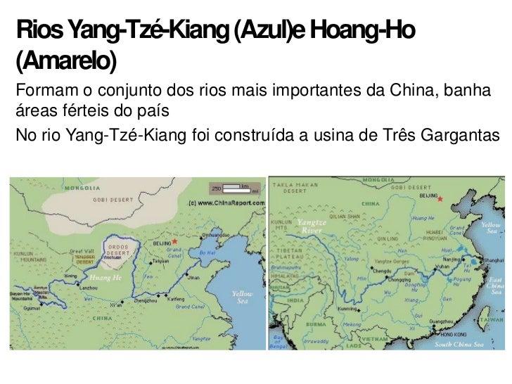 Resultado de imagem para rio azul e rio amarelo china
