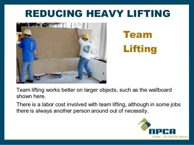 Back Lifting Safety By Npca