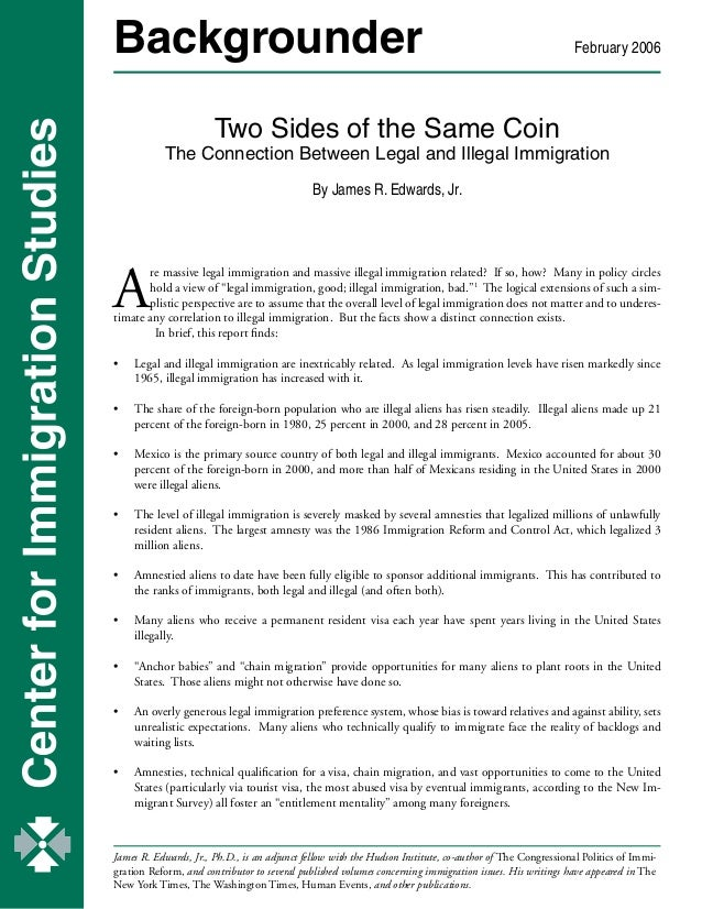 Two Sides of the Same Coin - the Connection Between Legal