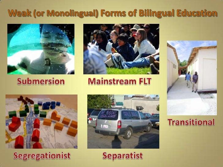 Analyzing types of bilingual education 6 toneelgroepblik Gallery
