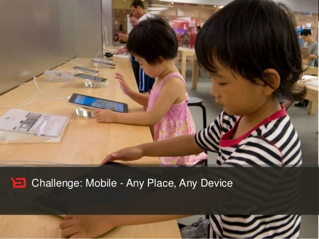 Customer Experience Solutions. Delivered. 7 Challenge: Mobile - Any Place, Any Device
