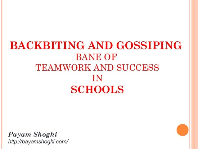 team work in schools Prerequisites for creating a team learning culture in schools  this innovation  describes the key preconditions for building a teamwork learning culture at the.