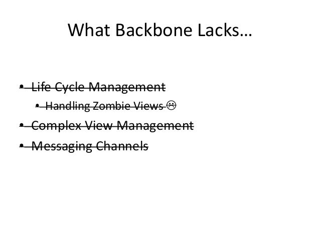 Backbone.CollectionView