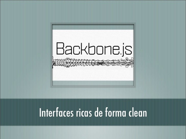 Interfaces ricas de forma clean
