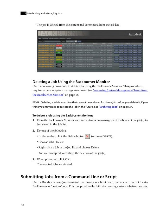 Backburner install guide