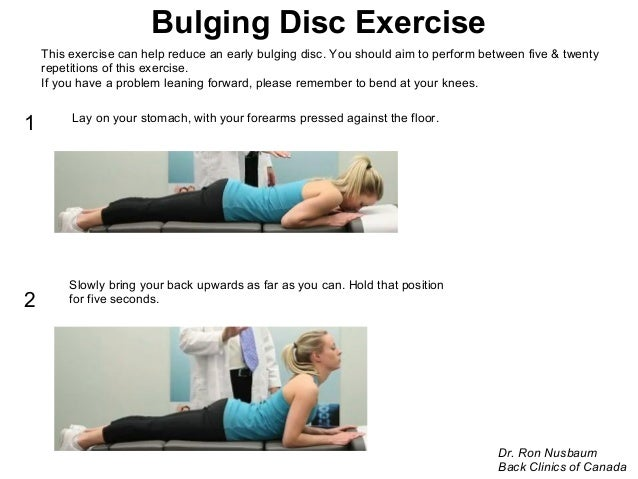Back Clinics of Canada Back Pain Exercises. Presented by ...