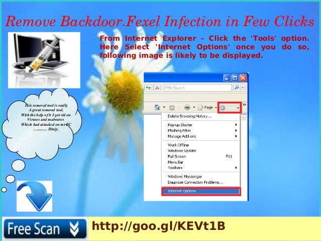 Backdoor fexel : How to uninstall Backdoor Fexel completely