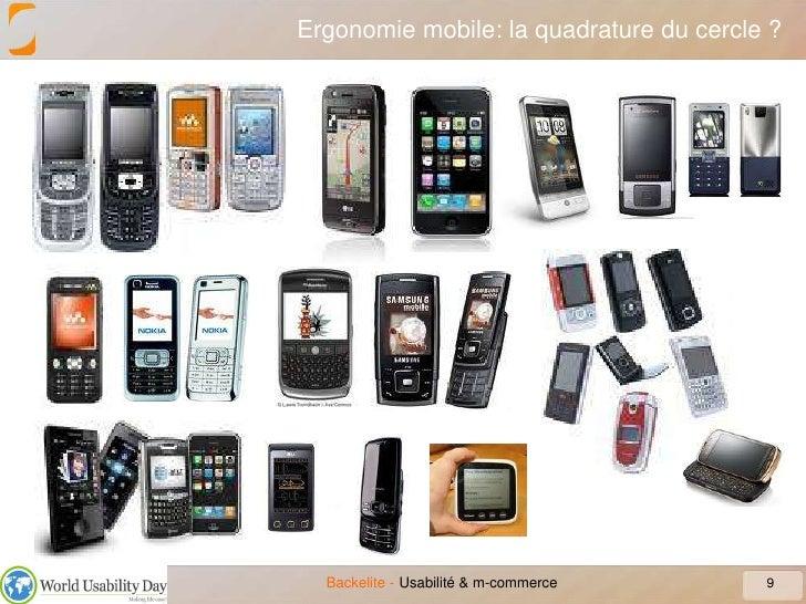 Ergonomie mobile: la quadrature du cercle ?<br />9<br />Usabilité & m-commerce<br />
