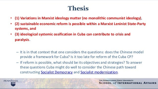 an analysis of the ideologies of communism List of political ideologies  save in social studies, a political ideology is a certain set of ethical ideals, principles.