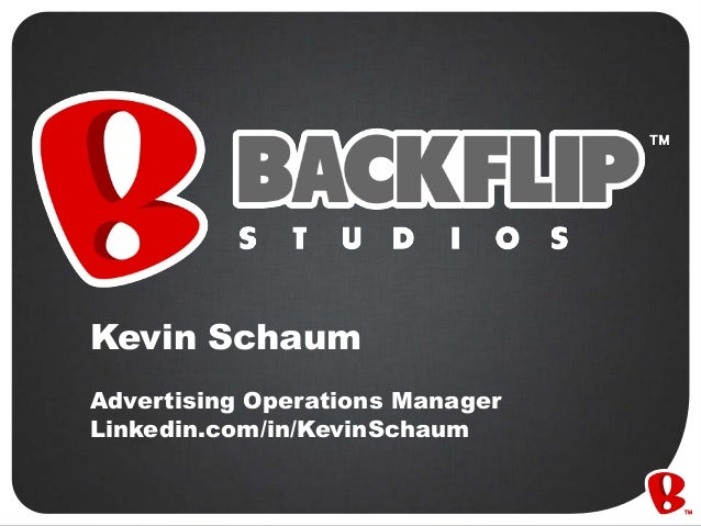 Kevin Schaum Advertising Operations Manager Linkedin.com/in/KevinSchaum
