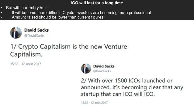 The future of ICOs - Thoughts after beeing back from #DEVCON3 Slide 3