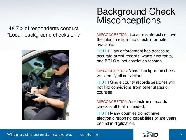 Background Check Misconceptions