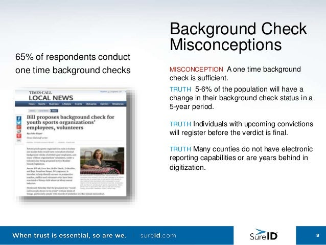 one time background checks