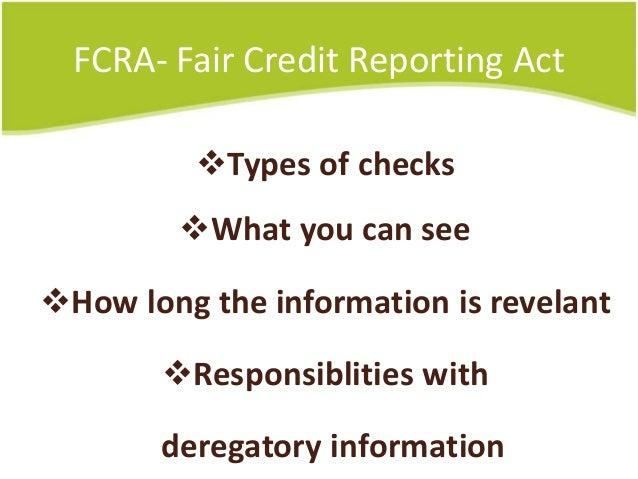 human resource background checks  u0026 fcra compliance 2014
