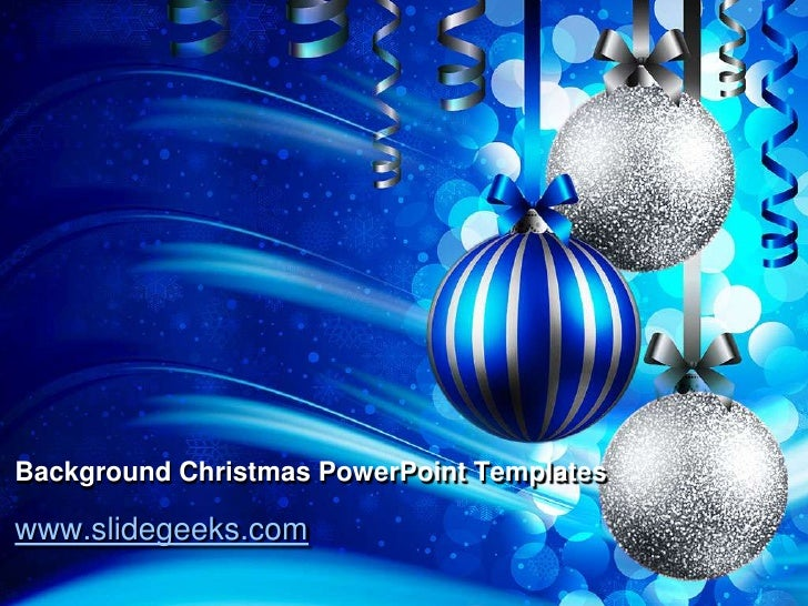 Background Christmas Power Point Templates