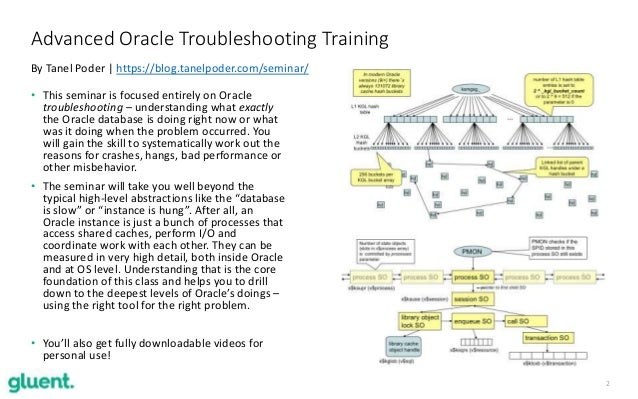 2 Advanced Oracle Troubleshooting Training By Tanel Poder   https://blog.tanelpoder.com/seminar/ • This seminar is focused...