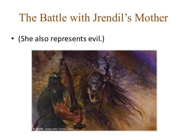 What do Grendel and the dragon symbolize in Beowulf?