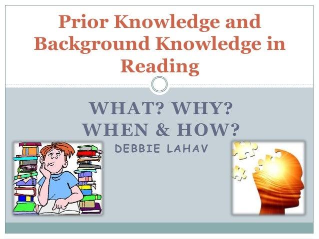 Reading Strategies - Hosts  Prior Knowledge Reading