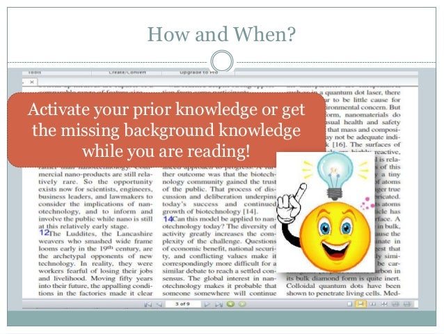 Activating Prior Knowledge by Wise Guys   Teachers Pay ...  Prior Knowledge Reading
