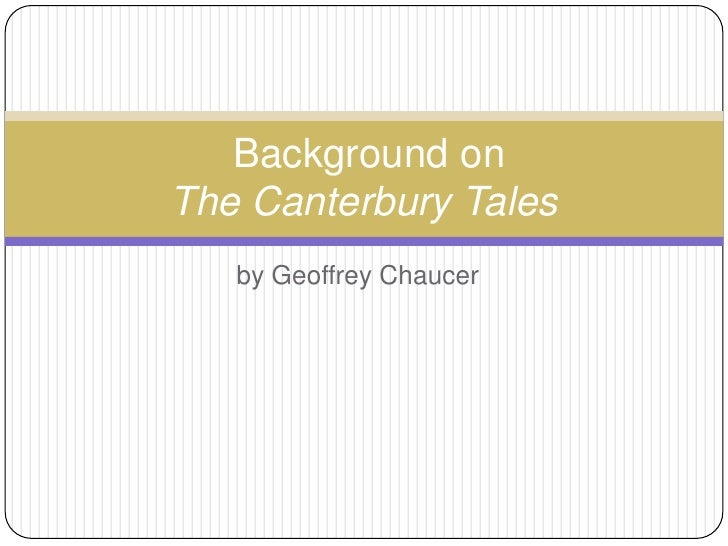 themes in the canterbury tales 1 Culminating writing task1 analyze how chaucer's choices as an author  lead to the development of multiple themes in the canterbury tales.