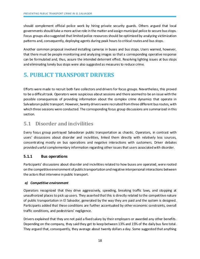 group transport essay Cae - essay paper 2 part 1  compared to the high cost of significantly upgrading our public transport system, advertising is relatively low-cost and.