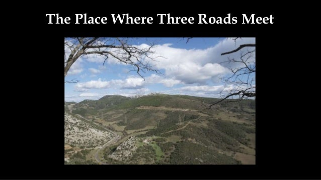 the place where three roads meet oedipus king