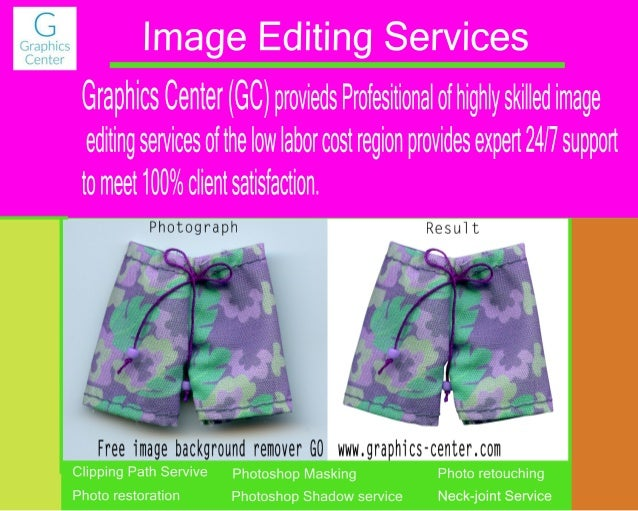 Background remover | Offshore Prepress Services | Photoshop
