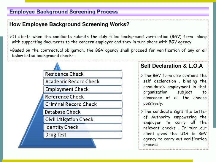 A Glimpse At Background Screening Process