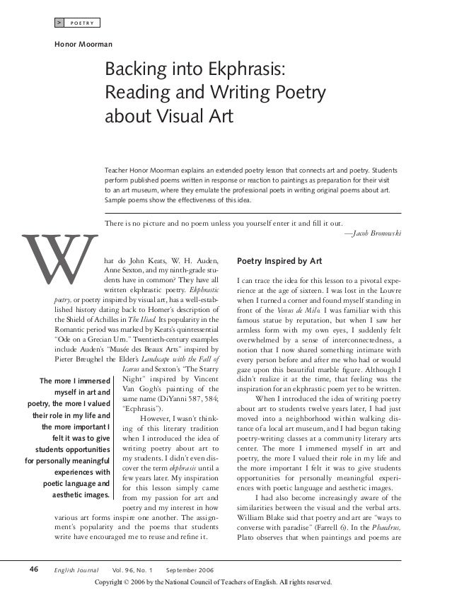 essays landscape writer poet Using imagery in poetry writing posted by melissa donovan on august 10, 2017 how to use imagery effectively in poetry writing when we talk about imagery, we're.