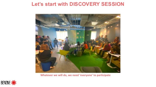 Let's start with DISCOVERY SESSION