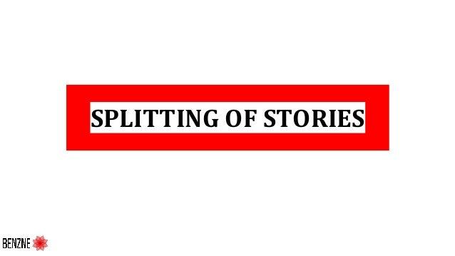 SPLITTING OF STORIES