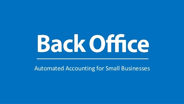Automated Accounting for Small Businesses