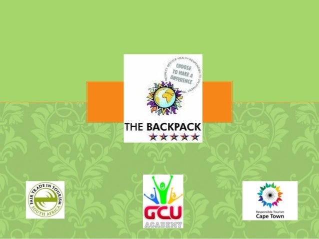 ABOUT BACKPACK• Accredited Fair Trade Backpackers• Invest in people and communities• Provide meaningful and relaxed experi...