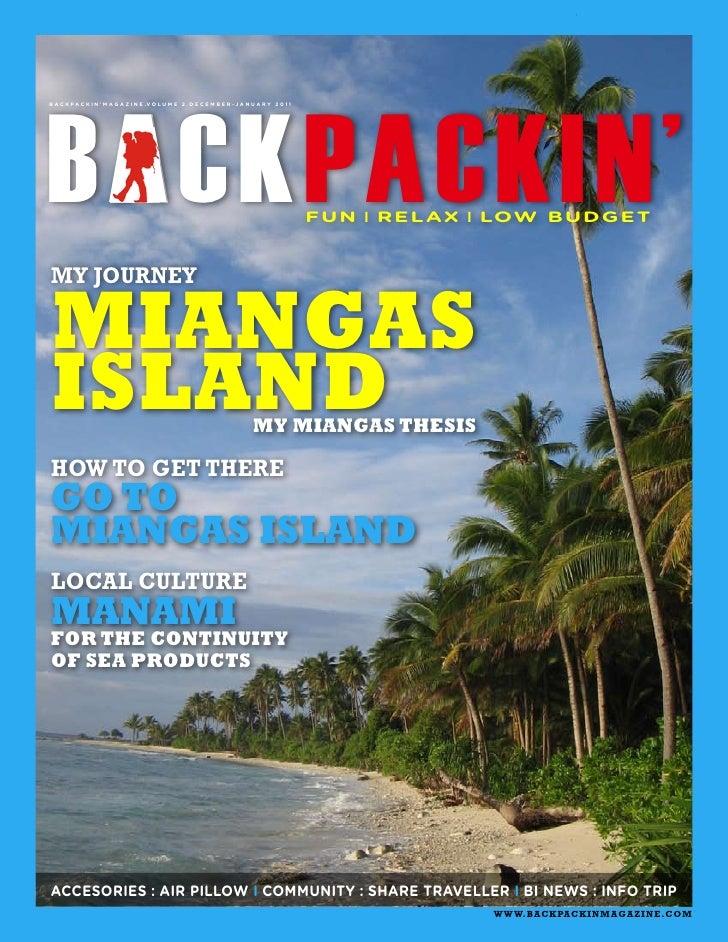 Backpackin magazine vol. 2