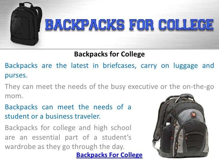 Backpacks for College Slide 2