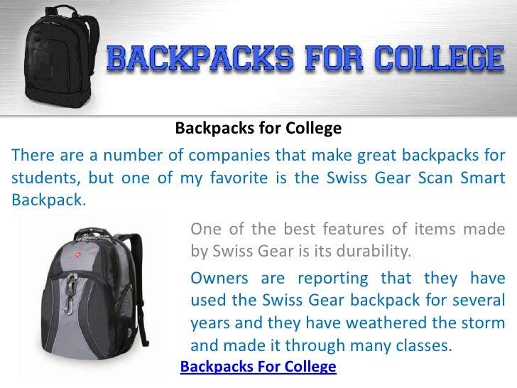 Backpacks for College Slide 3