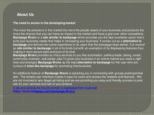 Backpage bronx com
