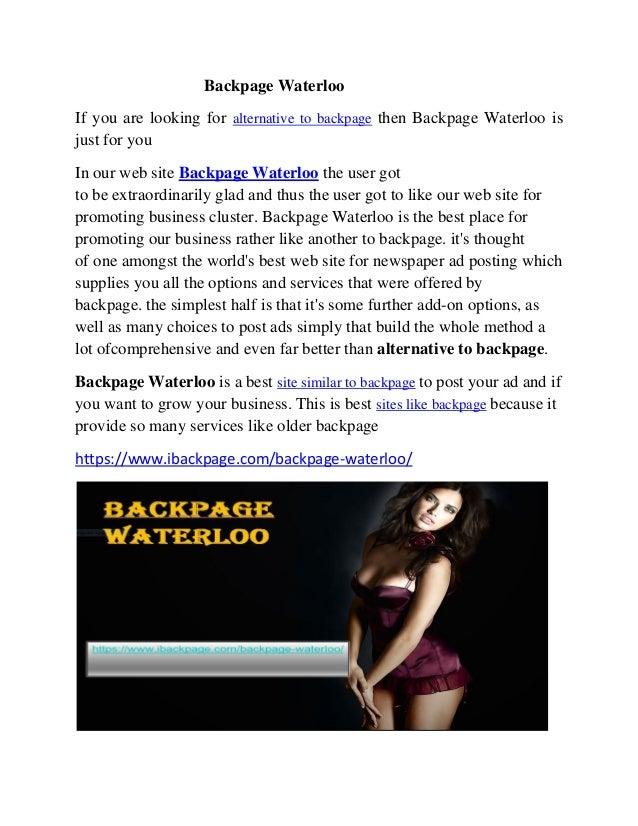 quel sont les sites erotic waterloo