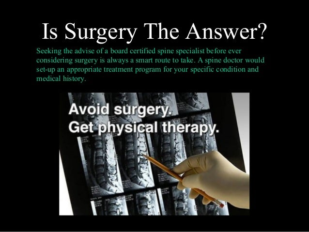 Back Pain Management 101 - Atlantic Spine Center